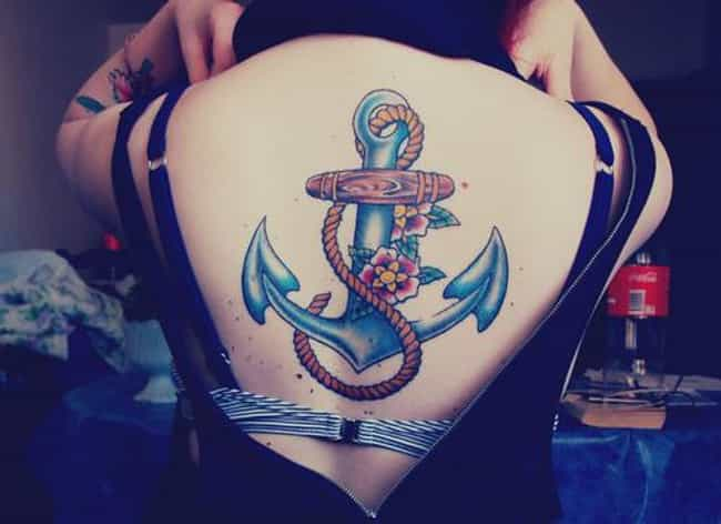 Colorful Anchor Tattoos is listed (or ranked) 4 on the list Anchor Tattoos And Designs