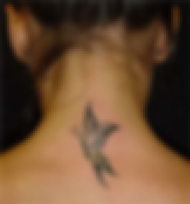 Butterfly Neck Tattoos is listed (or ranked) 2 on the list Neck Tattoo Designs
