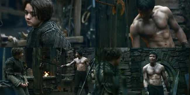 Gendry Waters / Arya Sta... is listed (or ranked) 2 on the list Popular 'Game of Thrones' Shipping