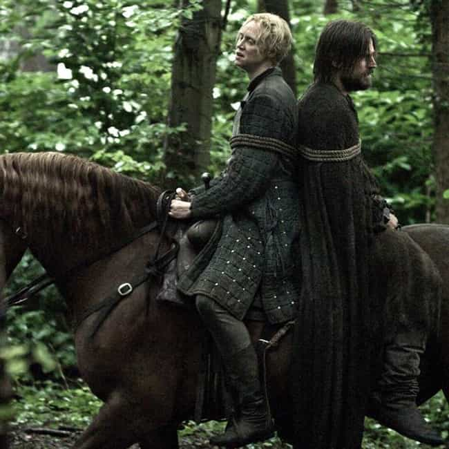 Jaime Lannister / Brienn... is listed (or ranked) 1 on the list Popular 'Game of Thrones' Shipping