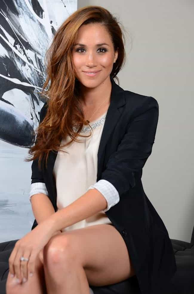 Meghan Markle is Glad People L... is listed (or ranked) 3 on the list The Most Stunning Meghan Markle Photos