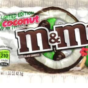 Coconut M&Ms is listed (or ranked) 22 on the list The Best Flavors of M&Ms