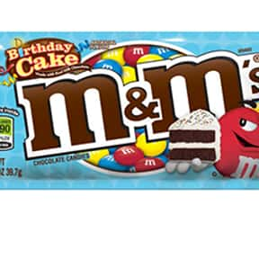 Birthday Cake M&Ms is listed (or ranked) 13 on the list The Best Flavors of M&Ms