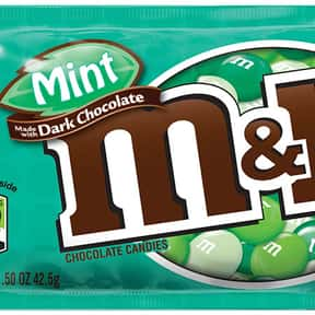 Mint Dark M&Ms is listed (or ranked) 10 on the list The Best Flavors of M&Ms
