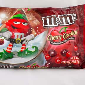 Milk Chocolate Cherry M&Ms is listed (or ranked) 23 on the list The Best Flavors of M&Ms