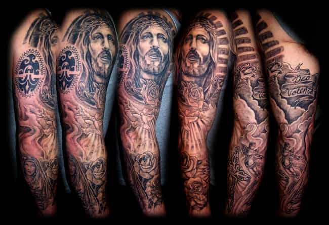 Full Sleeve Tattoos: Picture List Of Full Sleeve Tattoo Designs