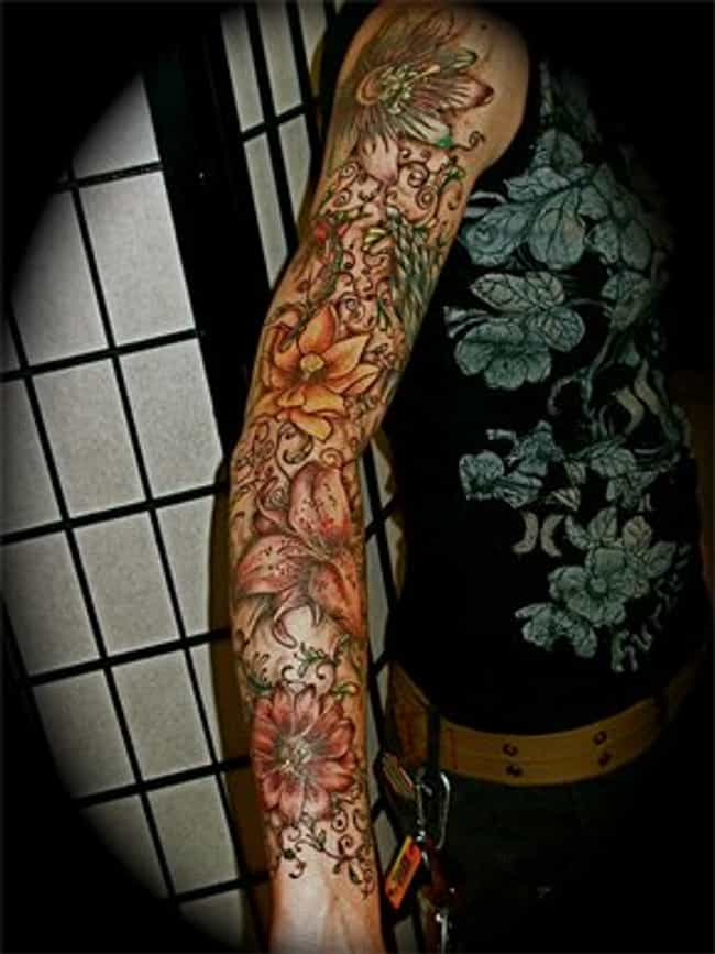 Full Sleeve Tattoos: Picture List Of Full Sleeve Tattoo Designs (Page 2)