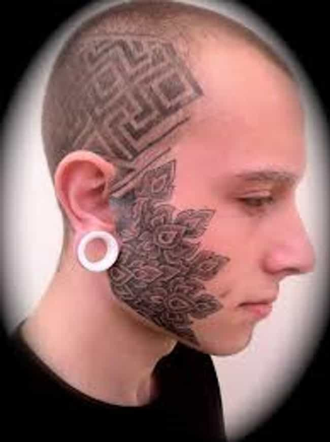 Face Tattoos And Designs