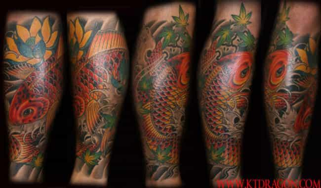 Calf Tattoos And Designs Viraluck