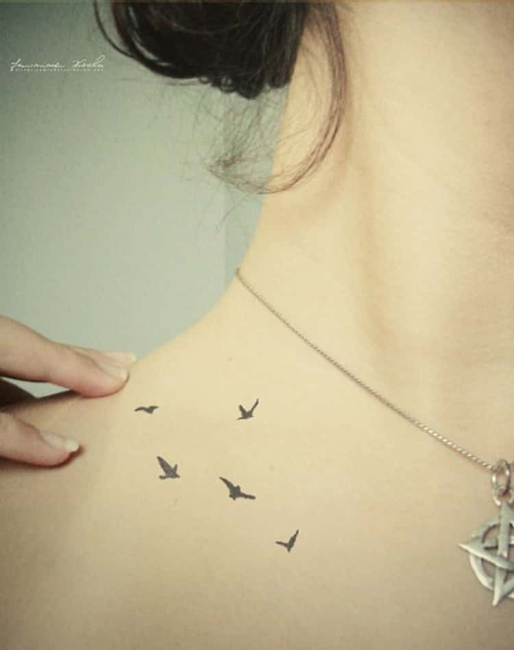 Small Bird Tattoos