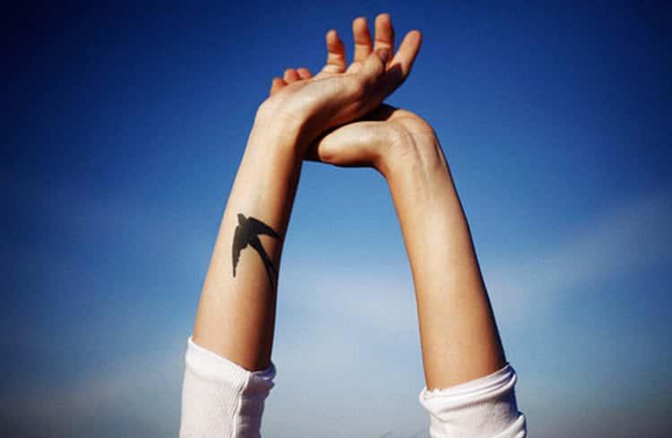 Arm Bird Tattoos