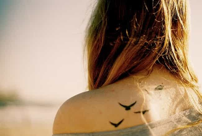 Back Bird Tattoos is listed (or ranked) 3 on the list Bird Tattoos And Designs