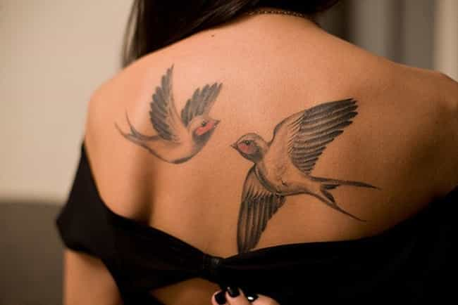 Realistic Bird Tattoos ... is listed (or ranked) 4 on the list Bird Tattoos And Designs