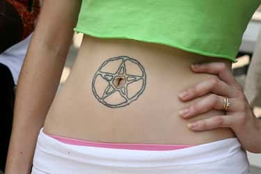 Star Belly Button Tattoos is listed (or ranked) 2 on the list Belly Button Tattoos And Designs