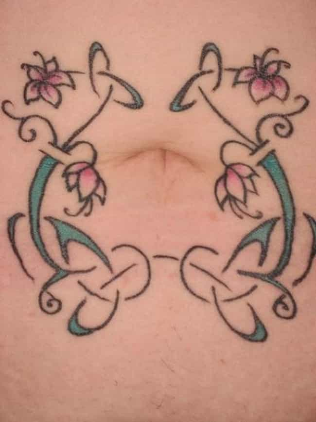 Belly Button Tattoos Ideas
