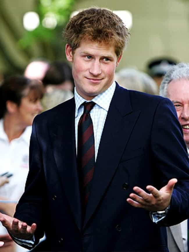 Prince Harry is listed (or ranked) 3 on the list The Hottest Male Redheads