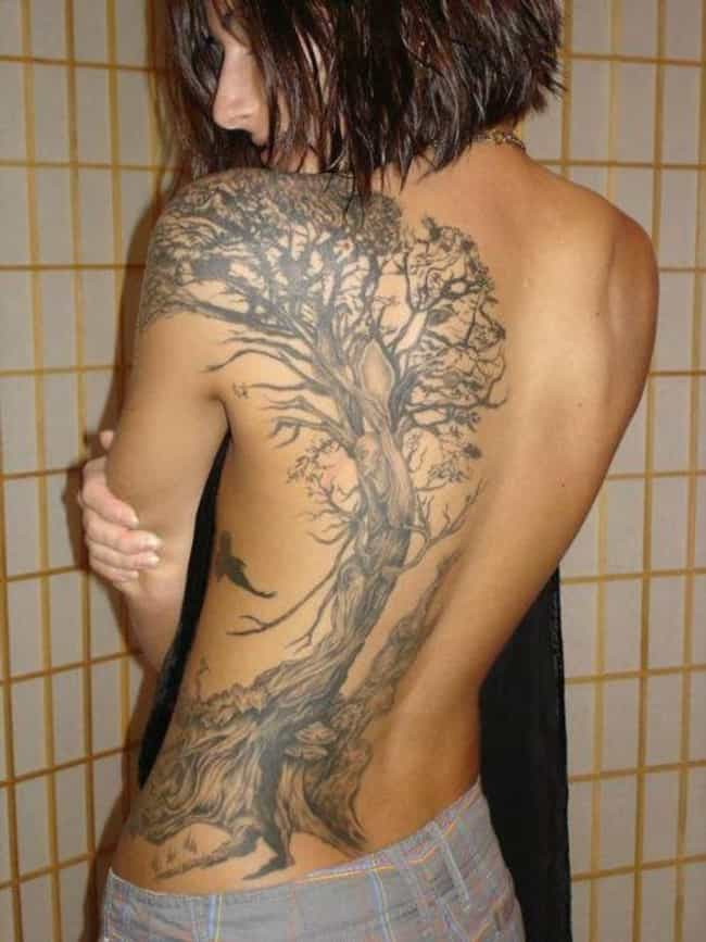 Tree Back Tattoos is listed (or ranked) 1 on the list Back Tattoos And Designs
