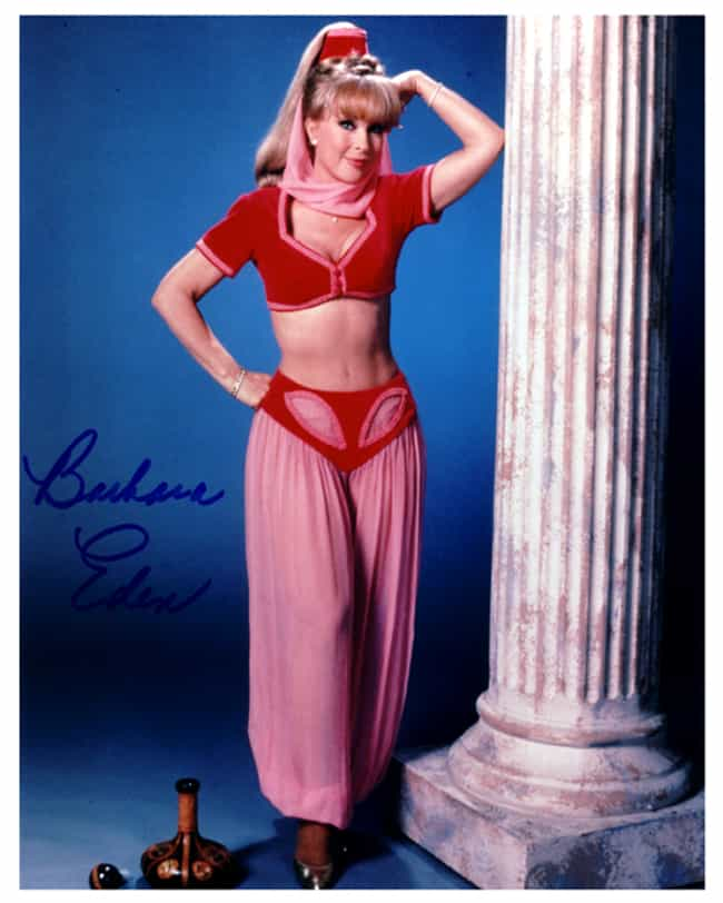 The Hottest Barbara Eden Photos