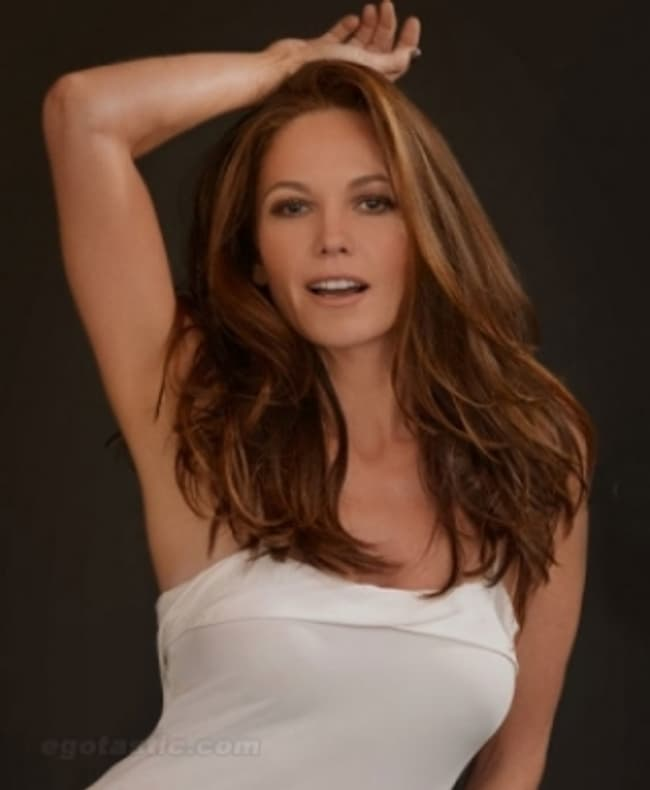 Diane Lane In White Folded Top Is Listed Or Ranked 1 On The List