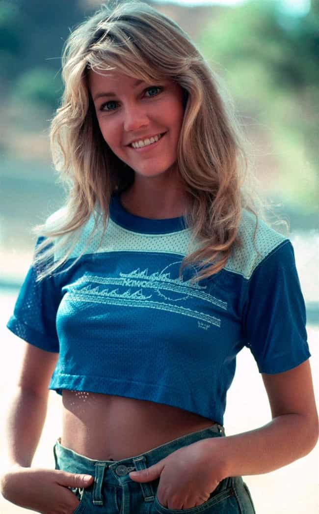 The 40 Hottest Heather Locklear Pictures Ever Young And Now-1483