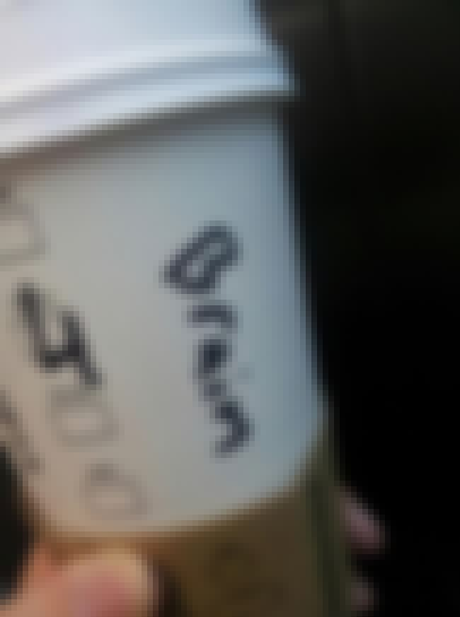 A Smart Choice for Coffee is listed (or ranked) 4 on the list The 30+ Best Starbucks Cup Spelling FAILs of All Time