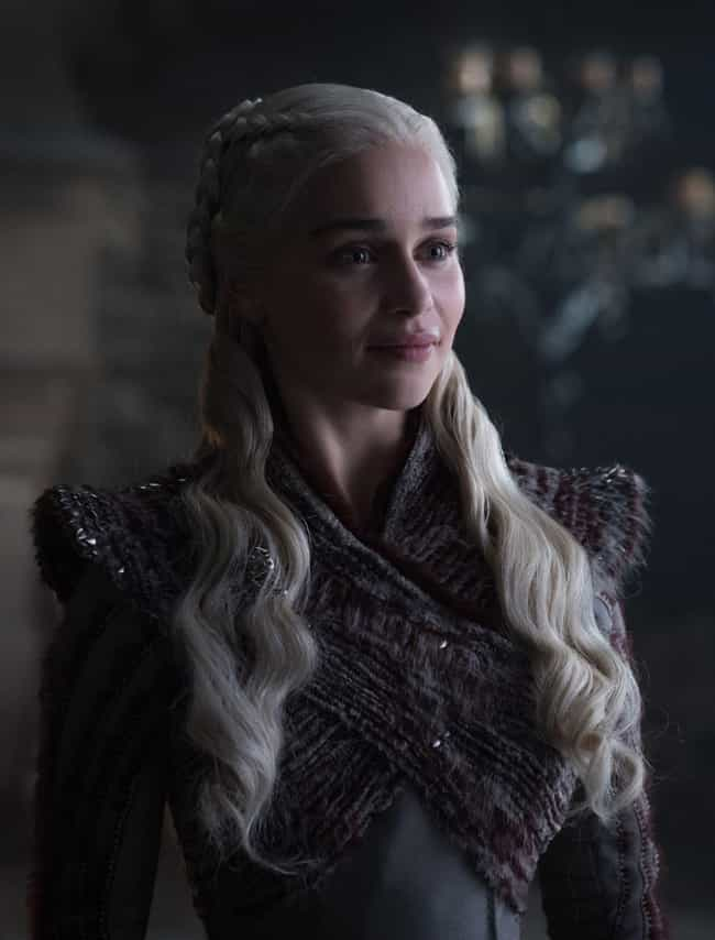 Daenerys is listed (or ranked) 3 on the list 22 Names from Game of Thrones That Are Gaining in Popularity