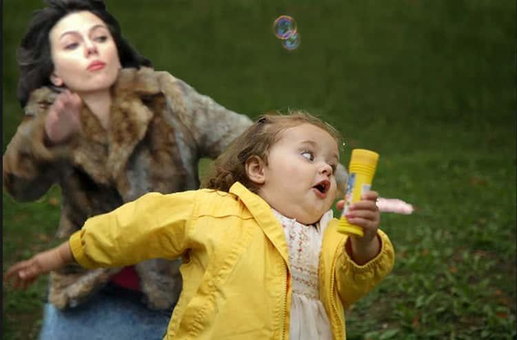 Run, Kid: Scarlett Johansson Will Steal All Your Bubbles