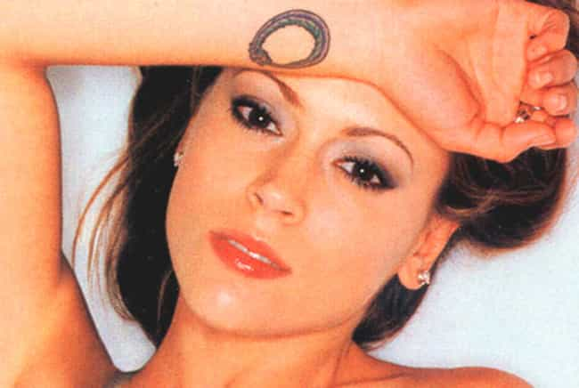 Ouroboros is listed (or ranked) 3 on the list Alyssa Milano Tattoos