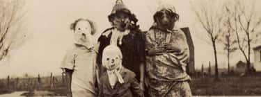 Guaranteed To Scare Away Any C is listed (or ranked) 1 on the list 18 Vintage Halloween Costumes That Will Give You Nightmares