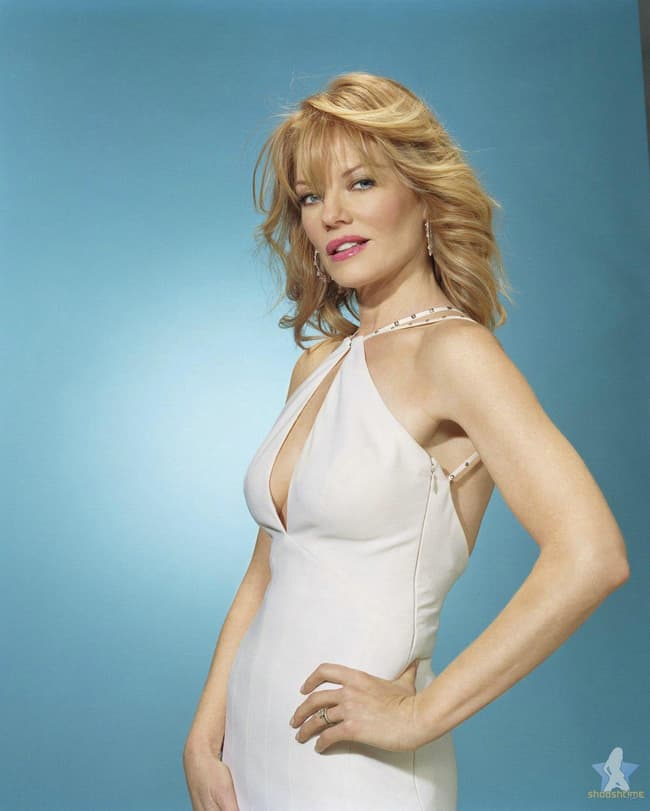 Marg Helgenberger In Chest Ope Is Listed Or Ranked 3 On