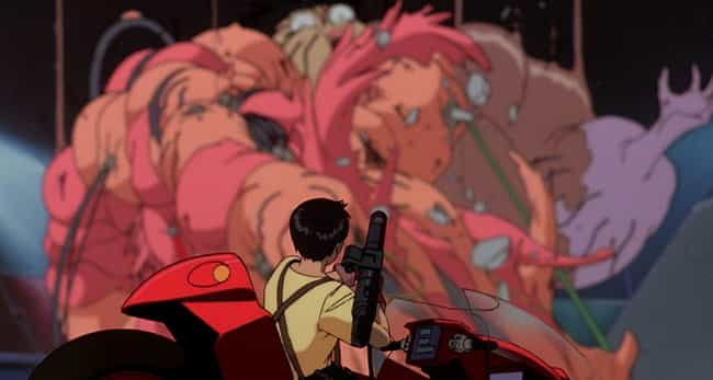 Akira is listed (or ranked) 4 on the list 13 Anime That Will Completely Blow Your Mind
