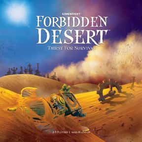 Forbidden Desert is listed (or ranked) 22 on the list The Best Board Games of All Time