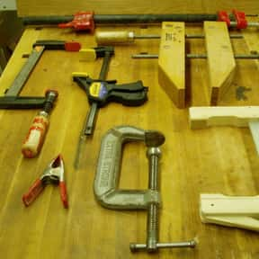 Clamps is listed (or ranked) 17 on the list The Best Household Tools