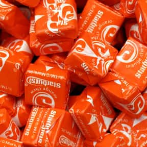 Orange Starburst is listed (or ranked) 2 on the list The Best Starburst Flavors