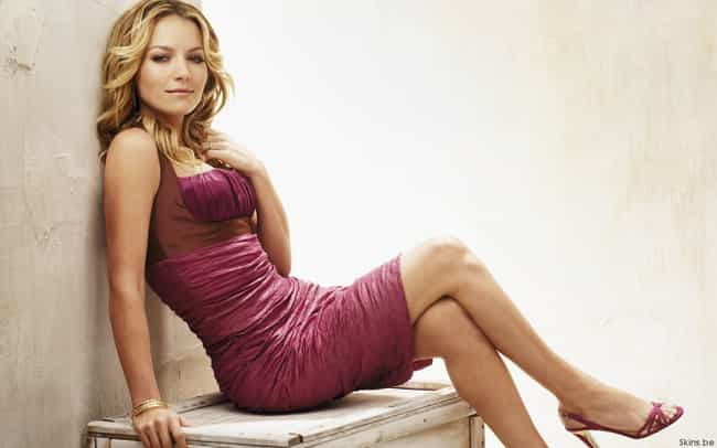 Becki Newton in Rose Pleated D... is listed (or ranked) 4 on the list The Most Stunning Becki Newton Photos