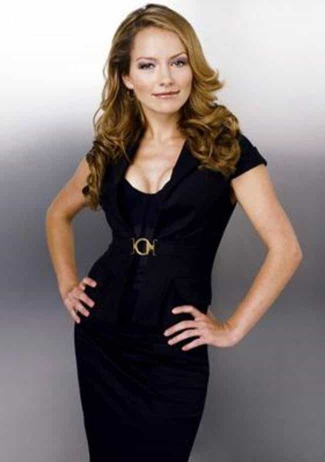 Becki Newton in a Black Dress ... is listed (or ranked) 1 on the list The Most Stunning Becki Newton Photos