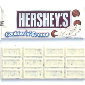 Hershey's Cookies & Cream is listed (or ranked) 12 on the list The Best Chocolate Bars