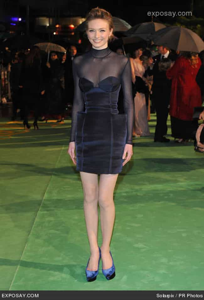 Eleanor Tomlinson in Sheer Lay... is listed (or ranked) 2 on the list The Most Stunning Eleanor Tomlinson Photos