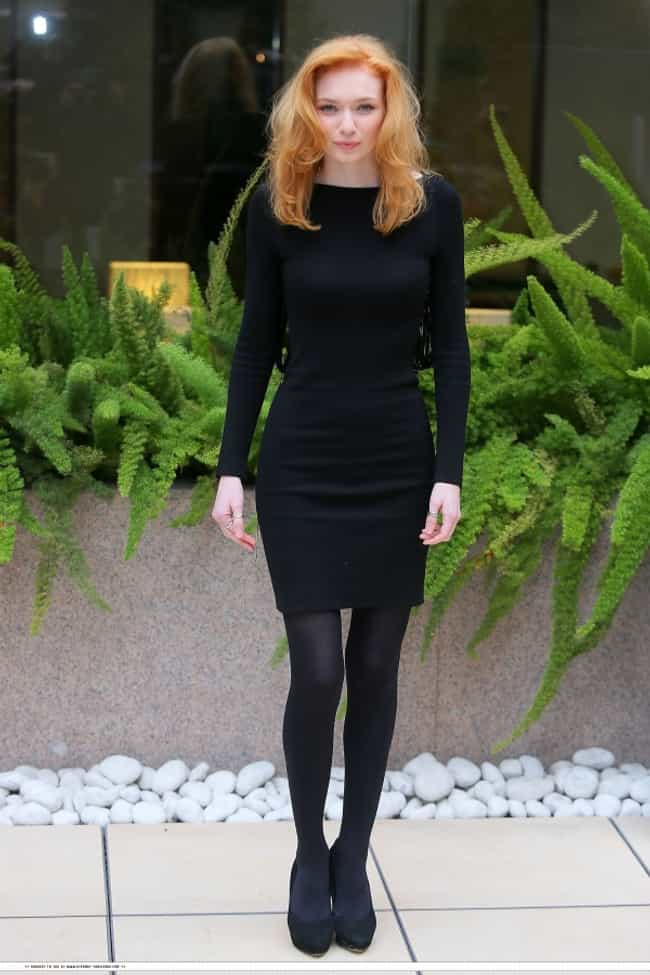 Eleanor Tomlinson in Black Lon... is listed (or ranked) 3 on the list The Most Stunning Eleanor Tomlinson Photos