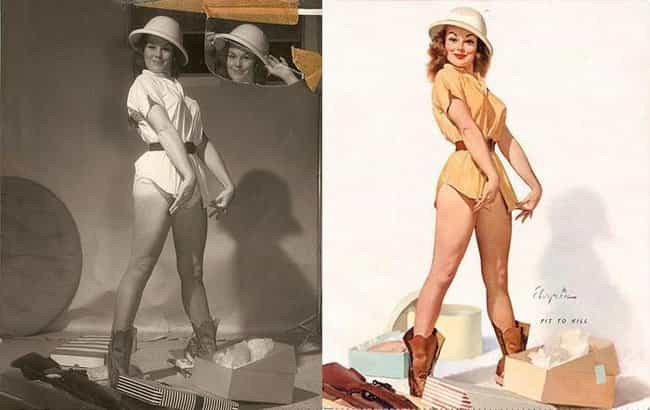 Pin-Up Safari is listed (or ranked) 4 on the list 15 Pin-Up Girls: Models Vs Drawn