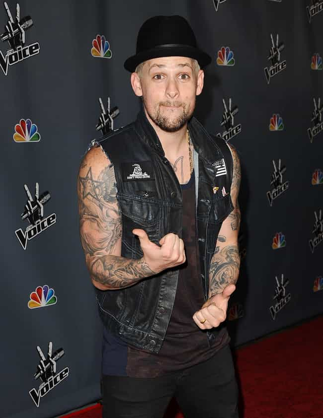 A Star and An Angel On His Rig... is listed (or ranked) 1 on the list Joel Madden's Most Awesome Tattoos