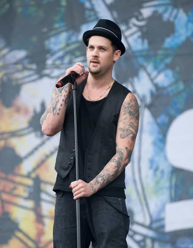 """Madden"" On The Side o... is listed (or ranked) 3 on the list Joel Madden's Most Awesome Tattoos"