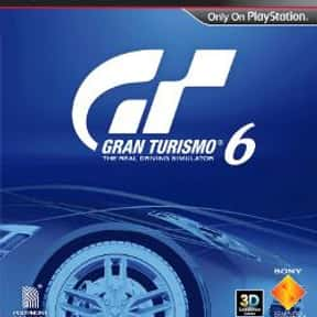 Gran Turismo 6 is listed (or ranked) 5 on the list The Best Gran Turismo Games