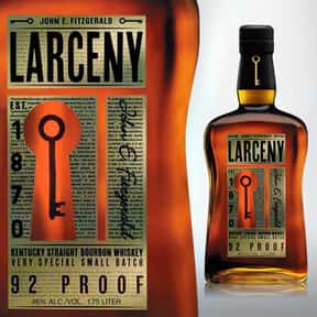 Larceny is listed (or ranked) 25 on the list The Best Bourbon Brands