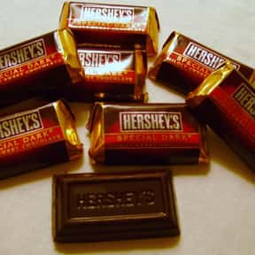 Hershey's Special Dark Chocola is listed (or ranked) 16 on the list The Best Hershey Bar Flavors