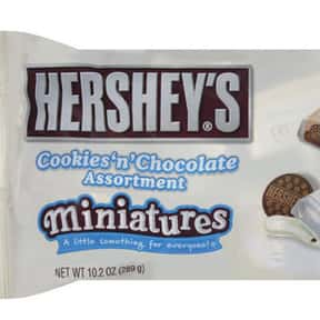 Hershey's Cookies 'n' Chocolat is listed (or ranked) 9 on the list The Best Hershey Bar Flavors