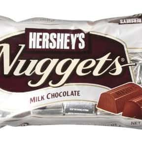 Hershey's Nuggets Milk Chocola is listed (or ranked) 13 on the list The Best Hershey Bar Flavors