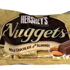 Hershey's Nuggets Milk Chocola is listed (or ranked) 25 on the list The Best Hershey Bar Flavors