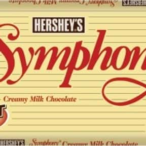 Hershey's Symphony Milk Chocol is listed (or ranked) 22 on the list The Best Hershey Bar Flavors