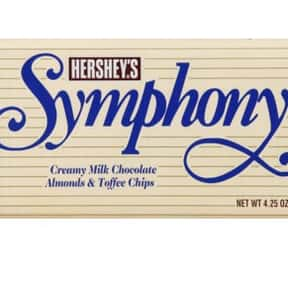 Hershey's Symphony Milk Chocol is listed (or ranked) 17 on the list The Best Hershey Bar Flavors